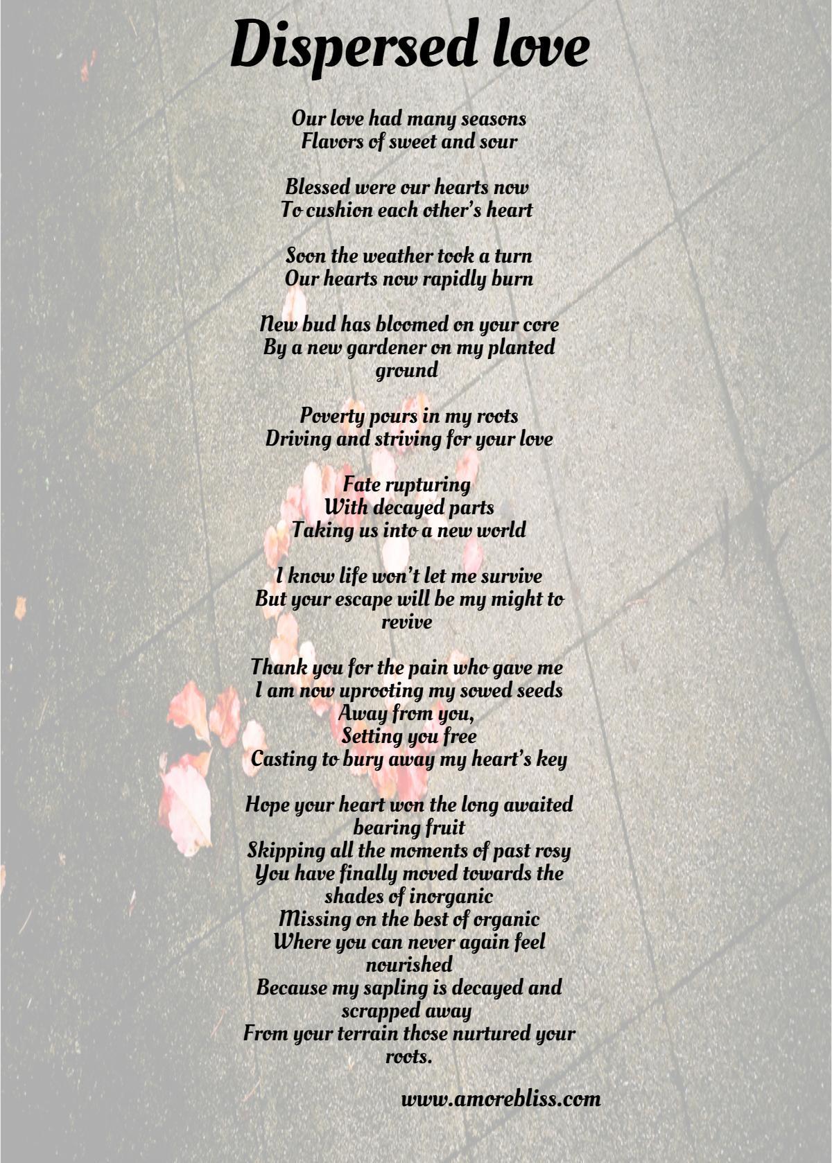 Betrayal Poems 7