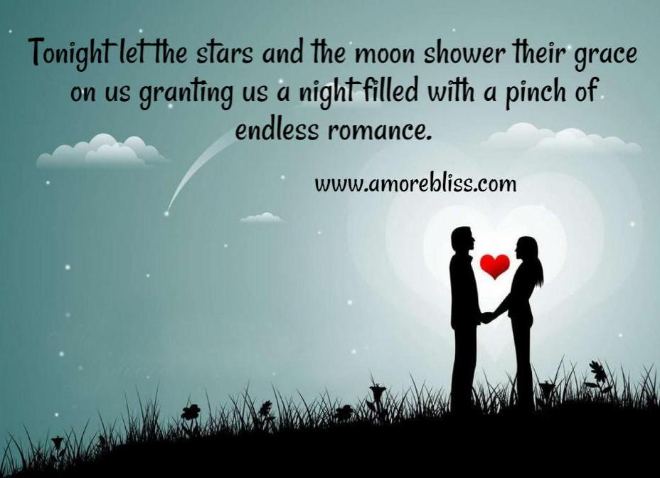 Romance With The Stars And Moon Amorebliss